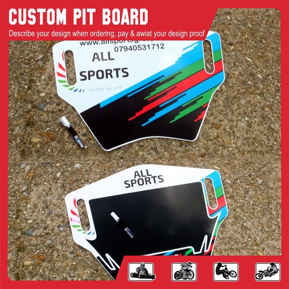 Custom pit board