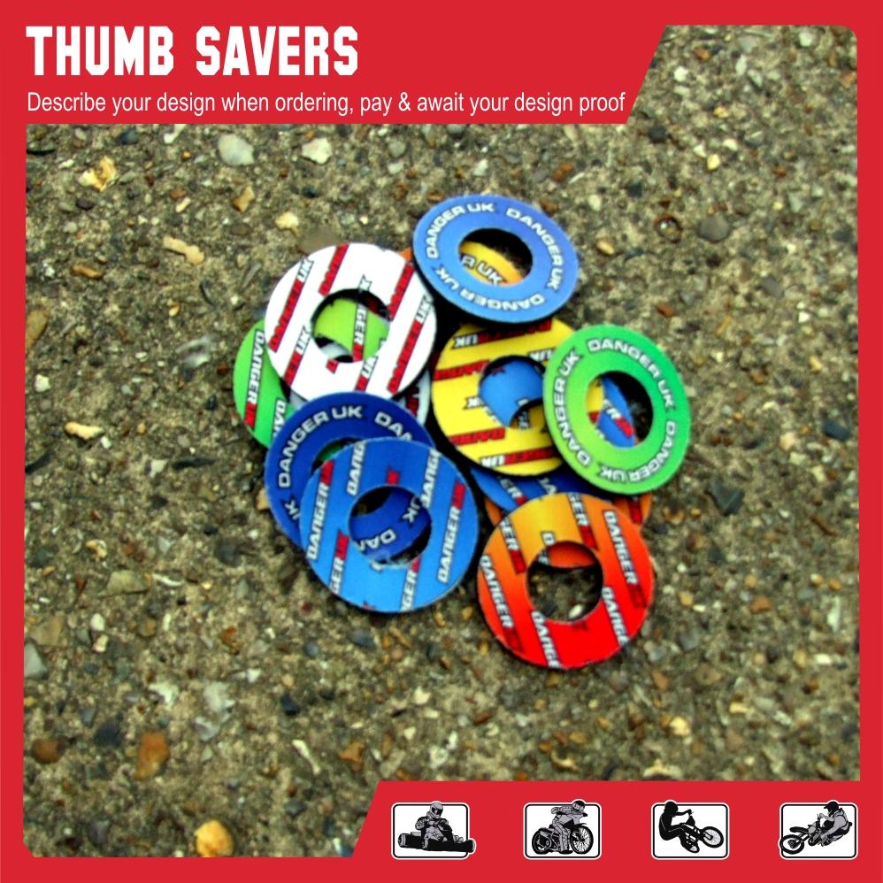 Custom Thumb savers