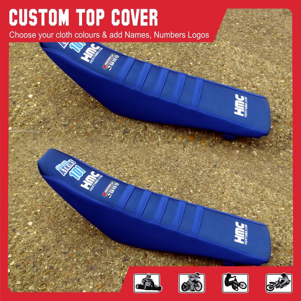 Custom top seat cover