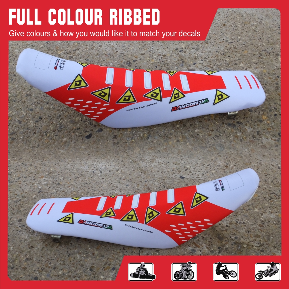 Full colour ribbed