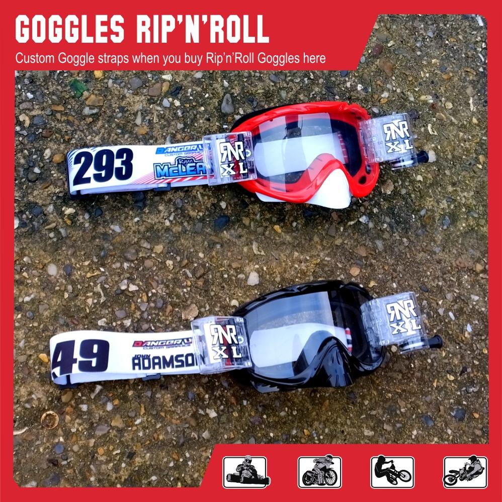 Goggle strap