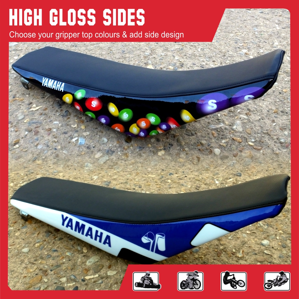 high gloss seat cover