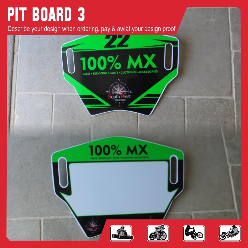 Pit board style 3