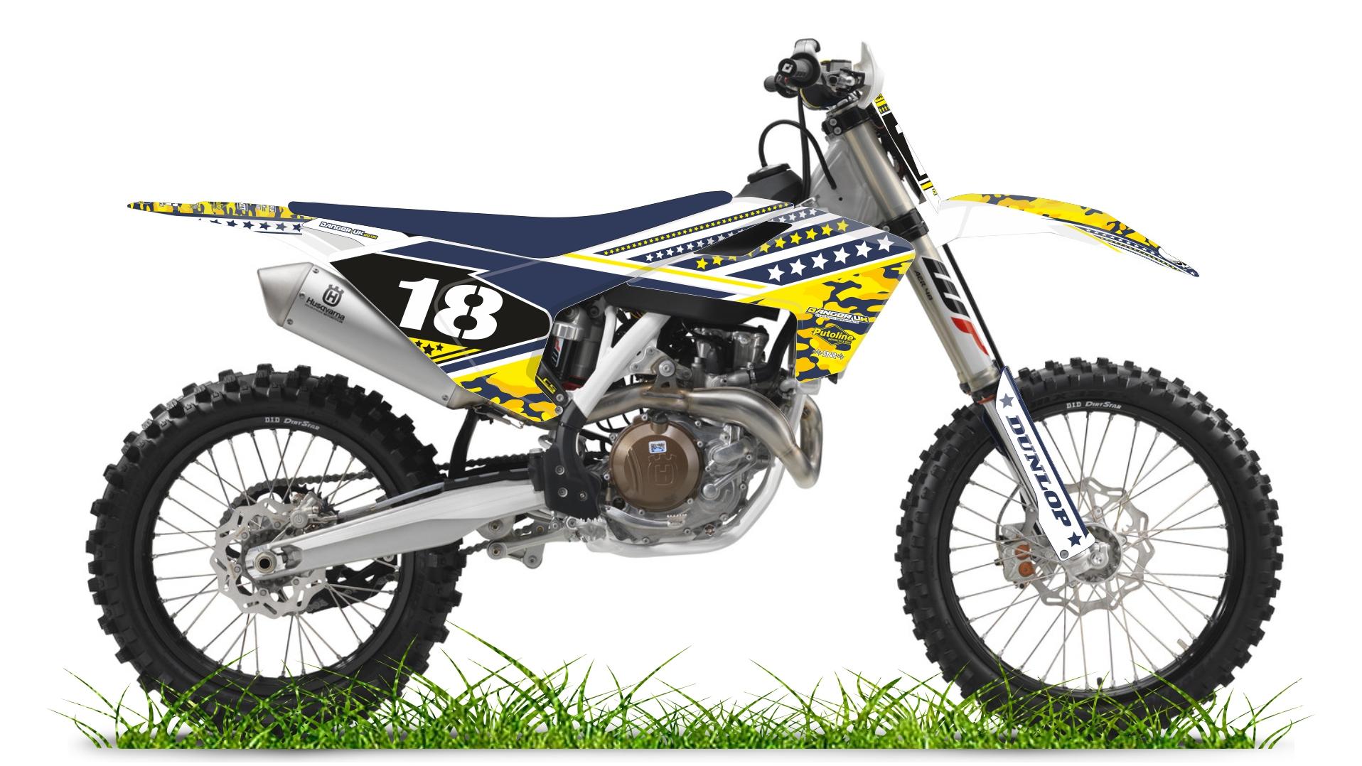 Custom bike 18 husky