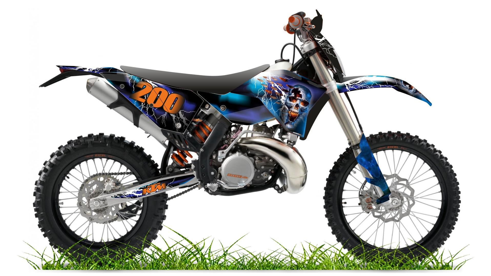 Custom bike 200