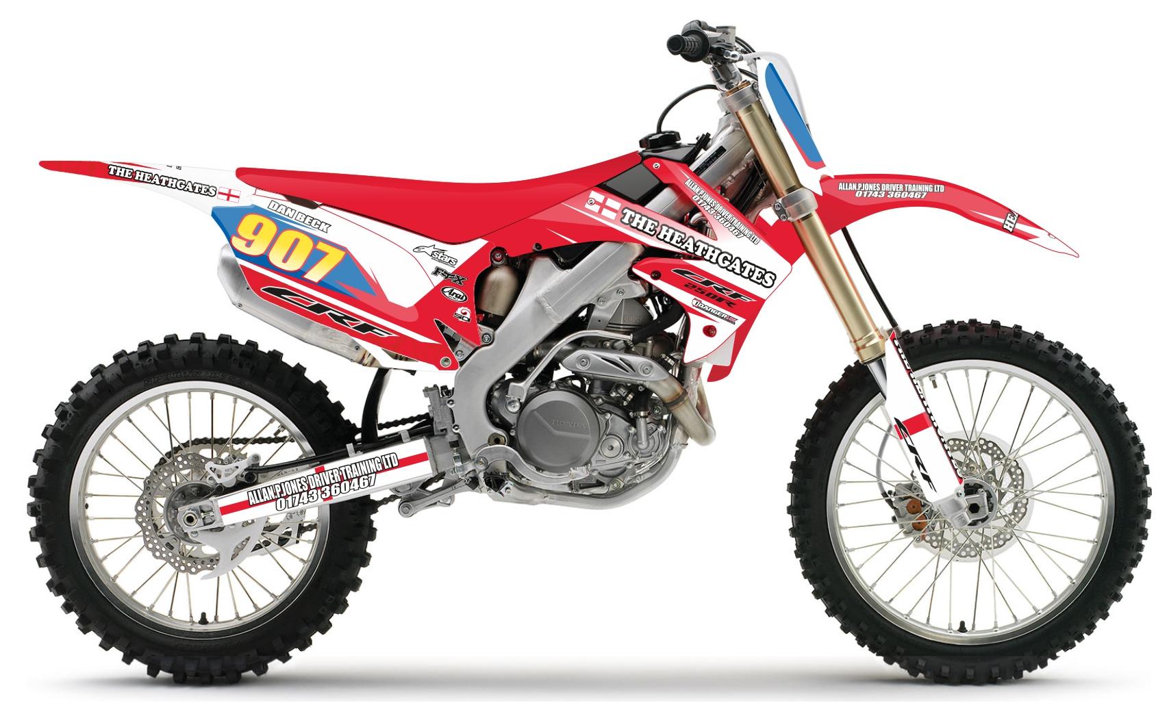 Custom bike heathgates