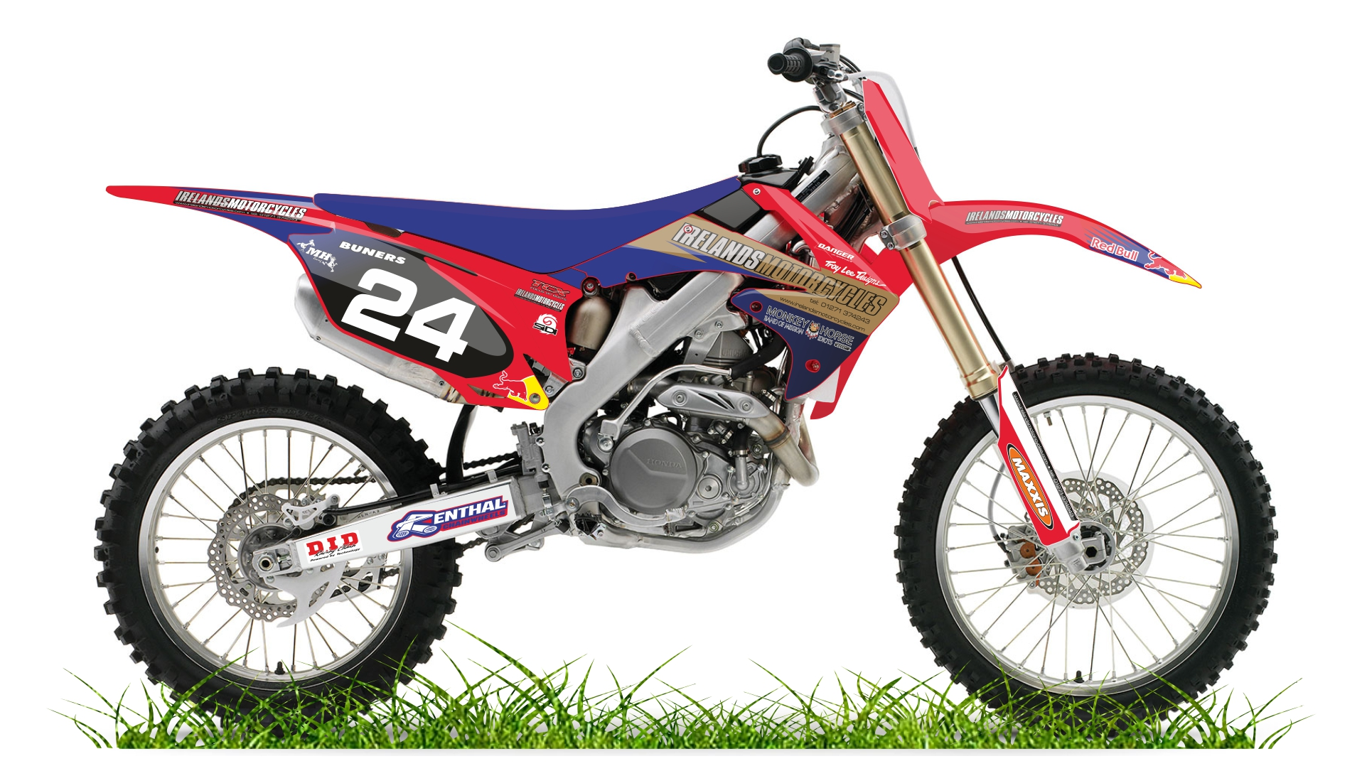 Custom bike irelands