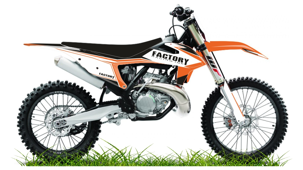 Custom bike KTM factory