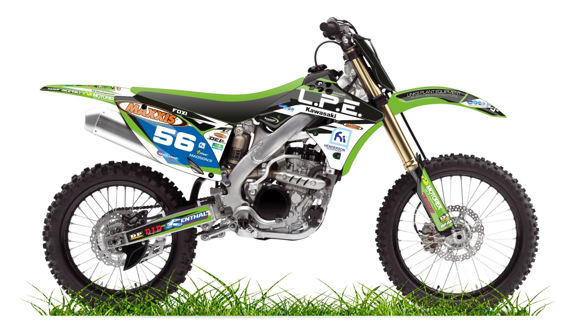 Custom bike KX lpe